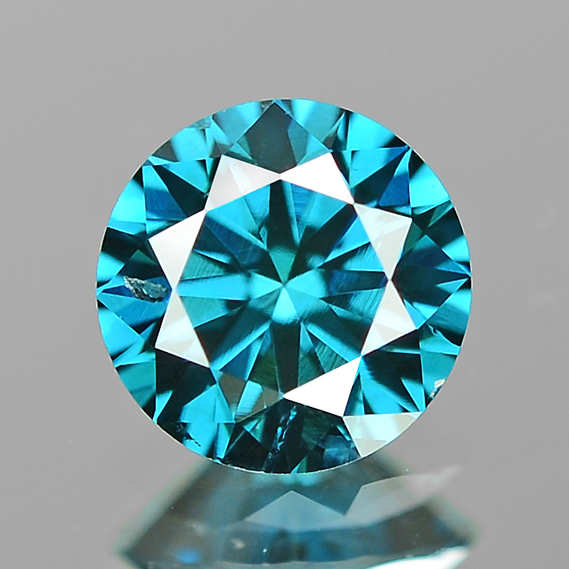 H Color 0.34cts 100Pcs Natural Loose Diamond Round SI Clarity Free Shipping
