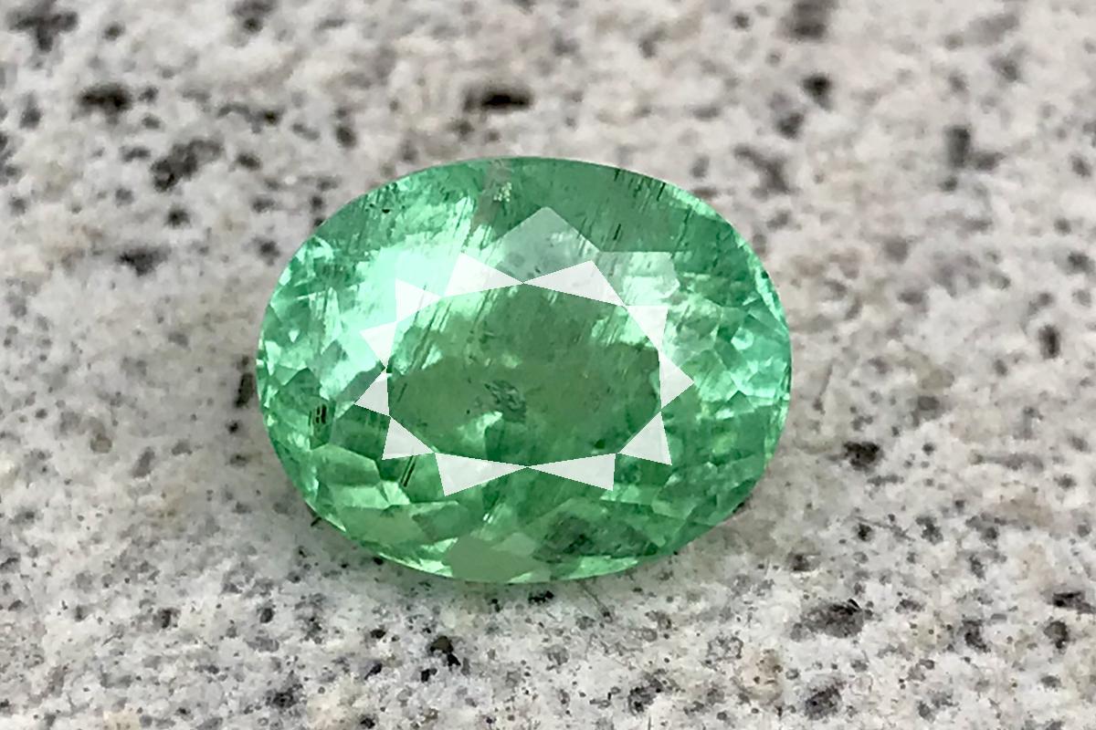 Rare 4.42 Ct 100% Natural Lustrous Greenish Blue Paraiba